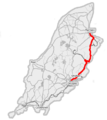 Isle of Man A2 road (OpenStreetMap).png