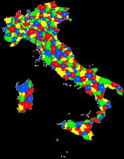 Italia distretti