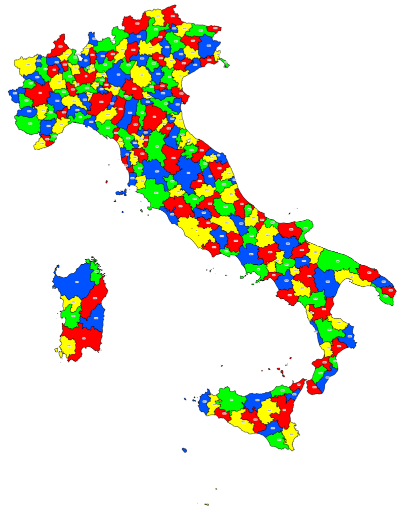 Italy Phone Codes Cities