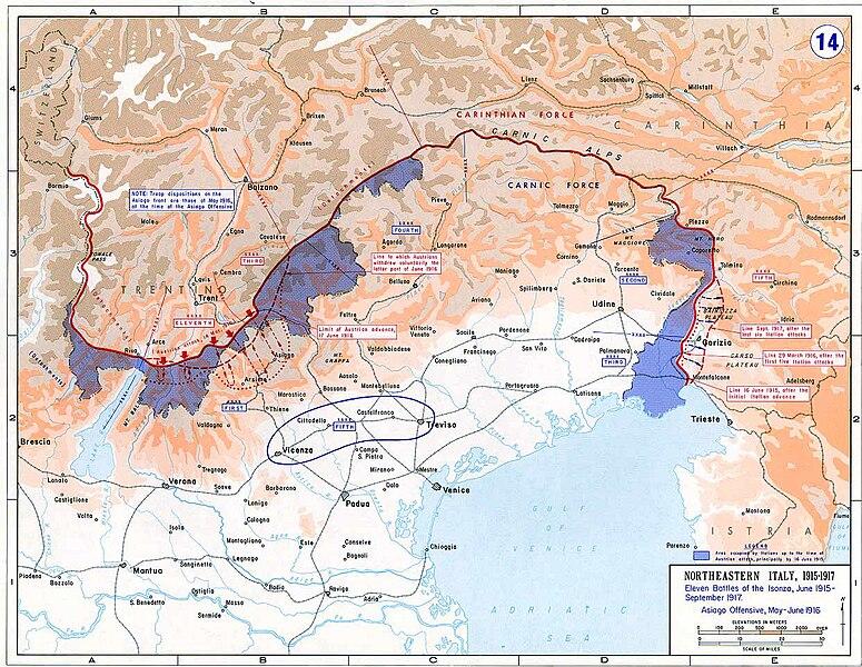 fronte italiano prima guerra mondiale