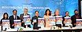 J.P. Nadda along with the UNICEF Goodwill Ambassador, Ms. Priyanka Chopra launching the Media Campaign of Weekly Iron and Folic Acid Supplement (WIFS) Programme, in New Delhi. The Secretary.jpg