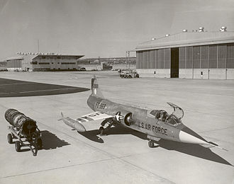 General Electric J79 - GE-J79-3 and Lockheed YF-104A Starfighter