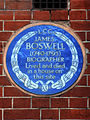 JAMES BOSWELL (1740-1795) BIOGRAPHER Lived and died in a house on this site.jpg