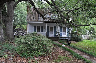 National Register of Historic Places listings in Evangeline Parish, Louisiana - Image: JEAN MARIE LARAN HOUSE, EVANGELINE PARISH