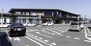 Hanamaki Station Railway station in Hanamaki, Iwate Prefecture, Japan
