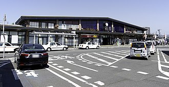 Hanamaki Station - Hanamaki Station in May 2015
