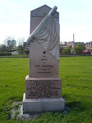 Holy Trinity Church, Sunderland - Image: Jack Crawford Memorial(Holy Trinity Sunderland)