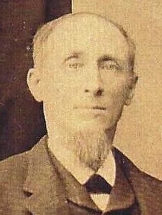 Jacob Nist - Portrait of Jacob M. Nist (1839–1907)