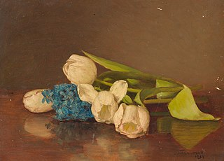 Liggende tulpen