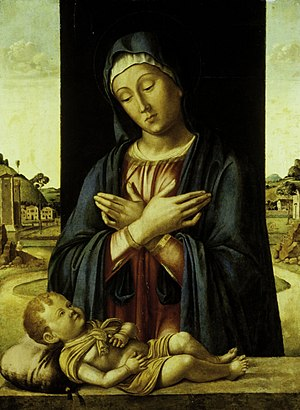 The Madonna Adoring the Christ Child