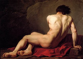 Patroclus - Patroclus by Jacques-Louis David (1780)