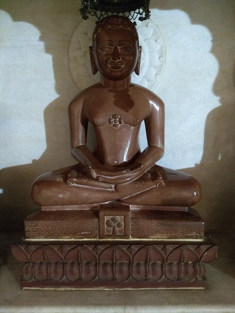 Jain statues in Anwa, Rajasthan 24