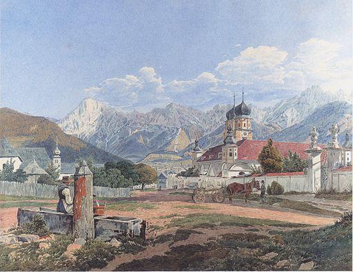 Jakob Alt - Stift Admont - 1835