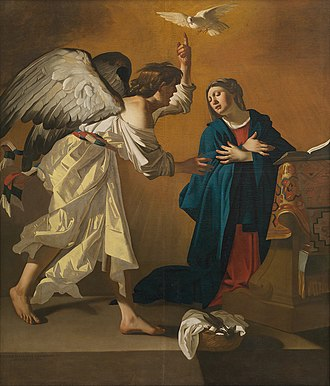 Knight of faith - The Annunciation, by Jan Janssens