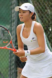 Jang Su-jeong South Korean tennis player