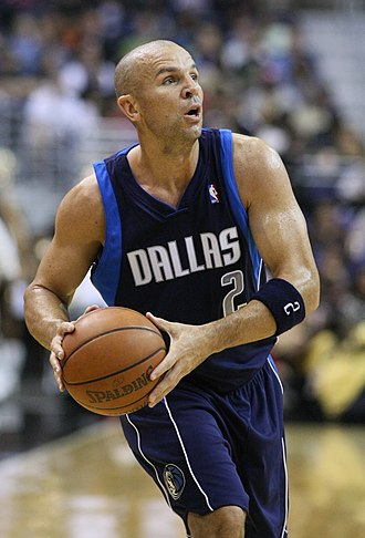 Jason Kidd - Kidd during his second tenure as a Maverick