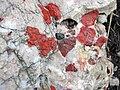 Jasper-quartz pebble conglomerate (Lorrain Formation, Paleoproterozoic, ~2.3 Ga; Ottertail Lake Northeast roadcut, near Bruce Mines, Ontario, Canada) 55 (40743071413).jpg