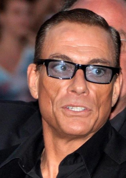 Van Damme in Paris at the French premiere of The Expendables 2 - Jean-Claude Van Damme