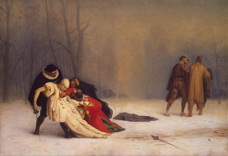 File:Jean-Léon Gérôme - Duel After a Masquerade Ball.jpg