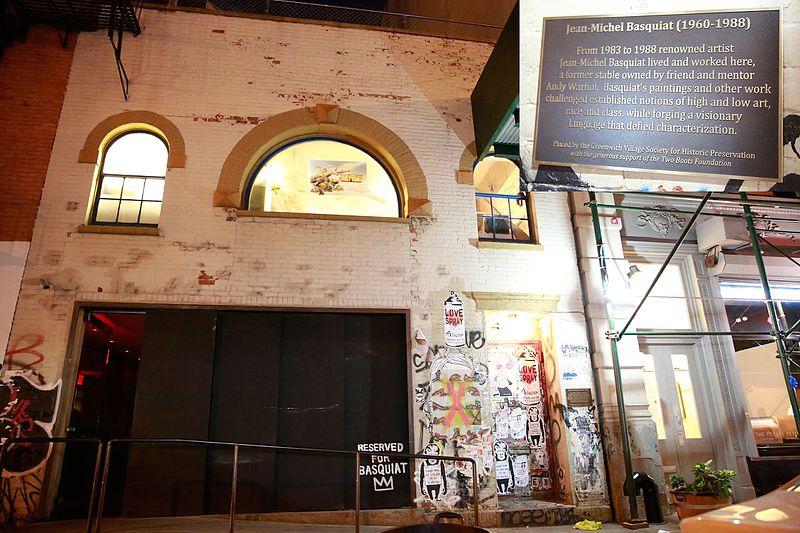 File:Jean-Michel Basquiat (1960-1988) home on 57 Great Jones Street.jpg