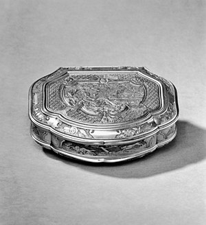 Thomas Byam Martin - A snuff box owned by Admiral of the Fleet Sir Thomas Byam Martin GCB