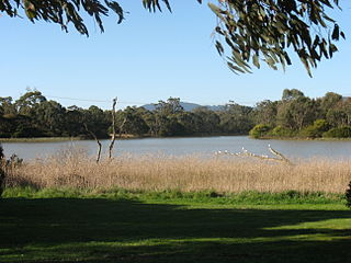 Lakes and reservoirs of Melbourne Wikimedia list article