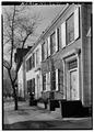 Jeremiah DeGraaf House, 25-27 Front Street, Schenectady, Schenectady County, NY HABS NY,47-SCHE,17-2.tif