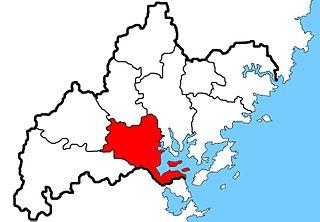 Jiaocheng District District in Fujian, Peoples Republic of China