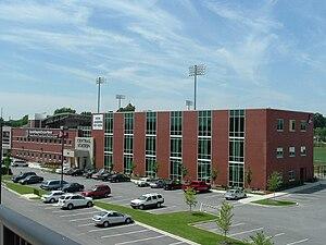 Jim Patterson Stadium - Image: Jim Patterson Stadium and Jewish Hospital Sports Medicine Complex