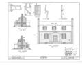 Joel Lane House, 728 Hargatt Street, Raleigh, Wake County, NC HABS NC,92-RAL,2- (sheet 3 of 6).png