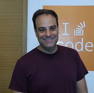 Joel Spolsky - Joel Spolsky at the Stack Exchange London office, June 2014.