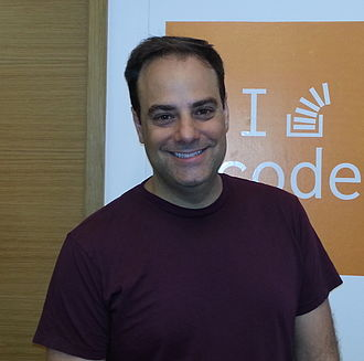 Joel Spolsky - Joel Spolsky at the Stack Exchange London office, June 2014.
