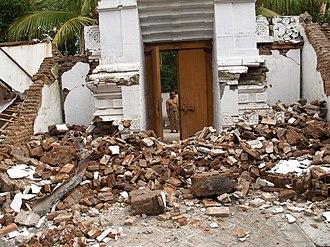 Imogiri - After the earthquake of 2006