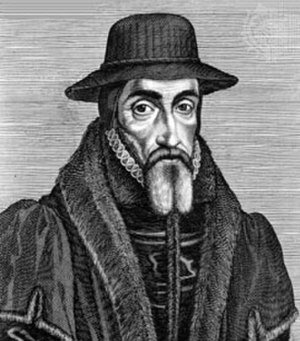 John Foxe's apocalyptic thought - John Foxe, 1641 engraving by George Glover.