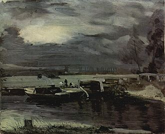 River Stour, Suffolk - Image: John Constable 005