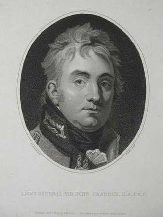 John Cradock, 1st Baron Howden - Image: John Cradock, 1st Baron Howden