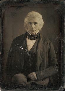 Daguerréotype de John Davis par Mathew Brady 1849.jpg