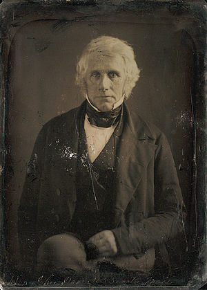 John Davis (Massachusetts governor) - Daguerreotype by Mathew Brady, March 1849