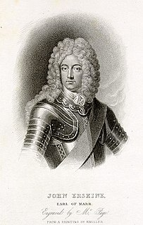 John Erskine, Earl of Mar (1675–1732) Scottish general
