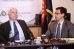 John McCain & Glenn Hamer (9505384097).jpg