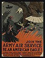 Join the Army Air Service, be an American eagle - Charles Livingston Bull ; Alpha Litho. Co., Inc., N.Y. LCCN95503123.jpg