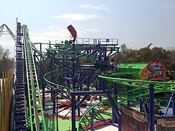 Joker at Six Flags Mexico (was Tony Hawks Big Spin, then Pandemonium, at Six Flags Discovery Kingdom).jpg