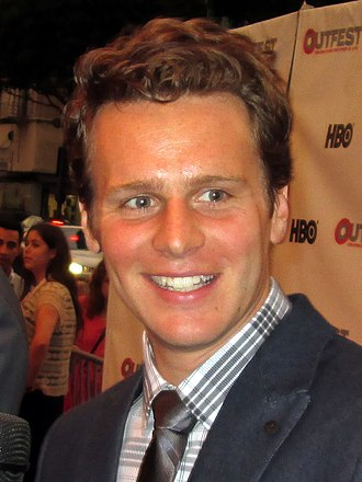 Jonathan Groff - Groff at Outfest in 2013.