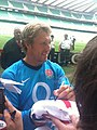 Jonny Wilkinson 2009 08 12 4 Whitton twickenham england training.jpg