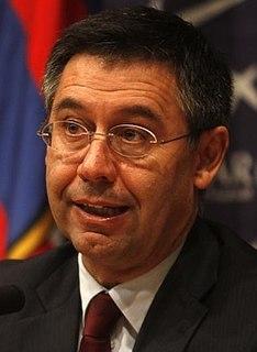 Josep Maria Bartomeu FC Barcelona President