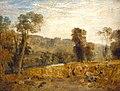 Joseph Mallord William Turner (1775-1851) - Cassiobury Park, Reaping - N04663 - National Gallery.jpg