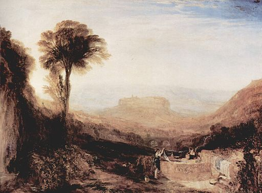 Joseph Mallord William Turner, View of Orvieto, Painted in Rome 1828