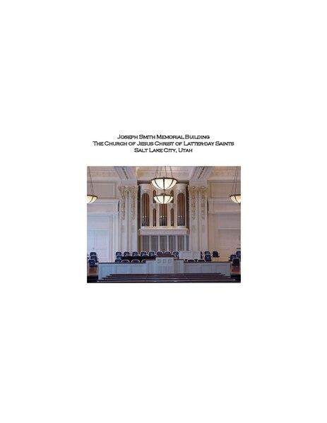 File:Joseph Smith Memorial Building Organ.pdf
