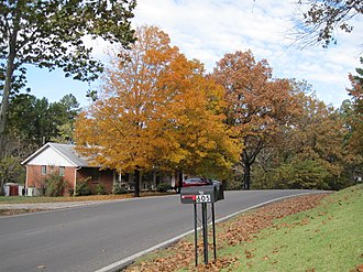 Batesville, Arkansas - Josephine Street in the fall