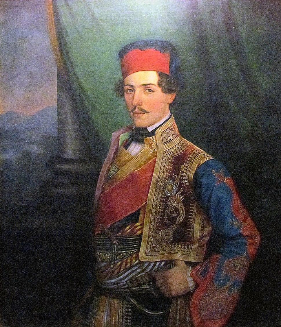 Jovan Popović, Prince Mihailo Obrenović 1841